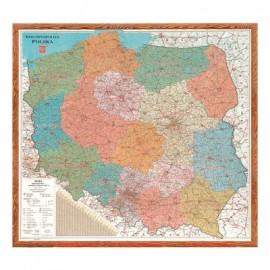 Tab.MAPA A/S.POLSKI90*100 1511