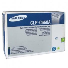 Toner SAMSUNG CLP-C660A cyan