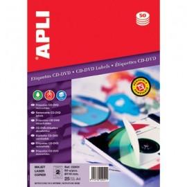 Etykiety 02001  CD/DVD Q114mm