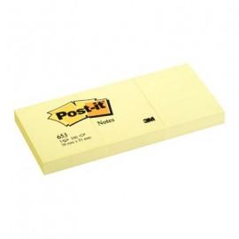Notes samop. 38*51(3)żółty 653