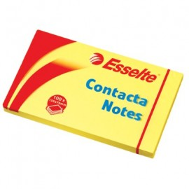 Kartki CONTACT.125*75 83001żół