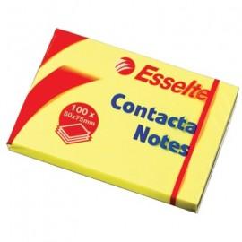 Kartki CONTACT.75*75 83003żółt