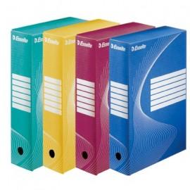 Pudełko BOXY 100 żółt.128423 E