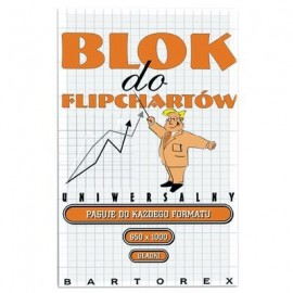 BLOK do flipcharta BARTOREX 50 ark. gładki