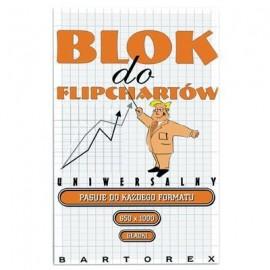 BLOK do flipcharta BARTOREX 20k gładki