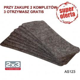 Wkład filcowy AS123 do czyścika AS122 10 szt.